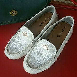 Cool Classic Coach Driving  Loafers